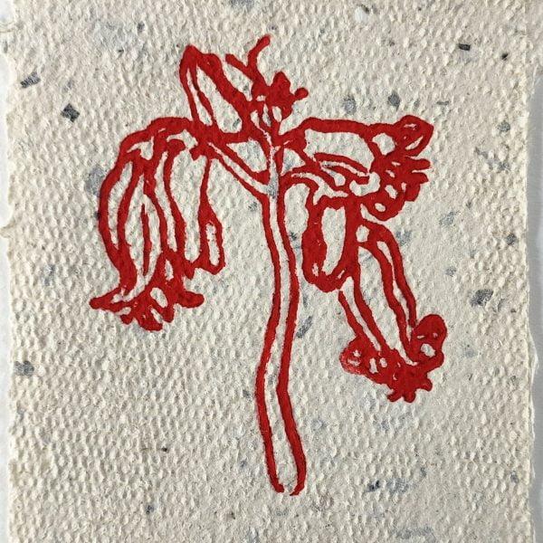 Flower I (Red)