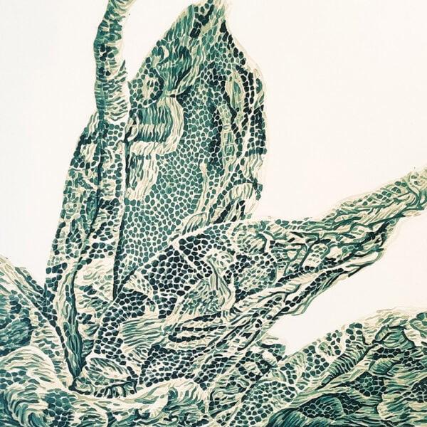 Succulent Lace Study I