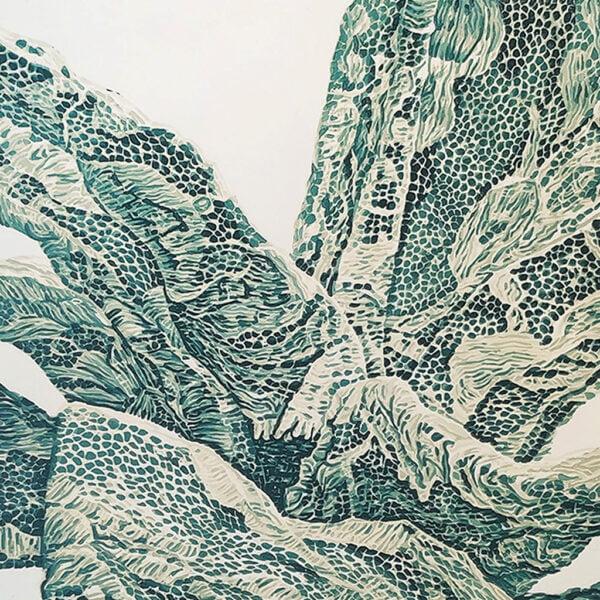 Succulent Lace Study II